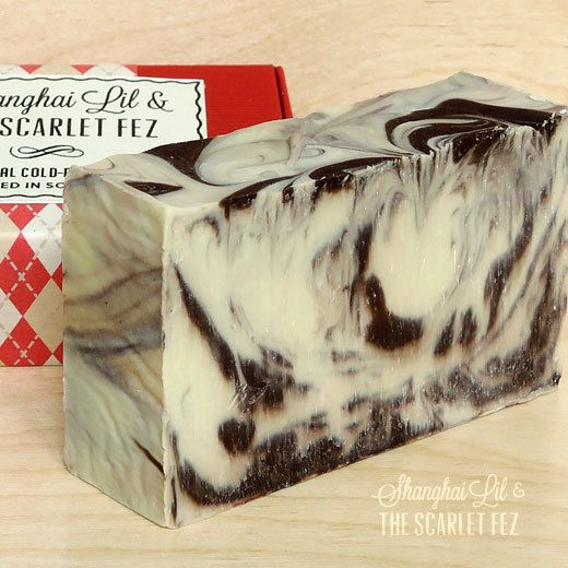 Velvet Cream - a super creamy soap with a soft and subtle scent reminiscent of chocolate, vanilla and almond.  All natural and vegan.