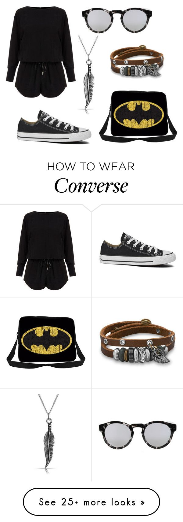 """Geen titel #71"" by silked on Polyvore featuring Helmut Lang, Converse, Illesteva, Bling Jewelry and BillyTheTree"