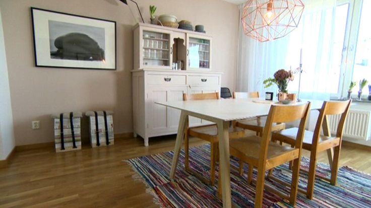 Hanna Wessmans matsal i Äntligen hemma 10 december 2013