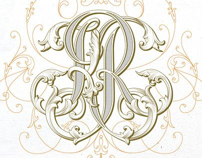 "Check out new work on my @Behance portfolio: ""Handlettered KR monogram design"" http://be.net/gallery/55368199/Handlettered-KR-monogram-design"