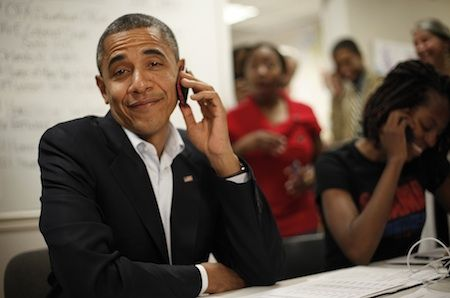 Great Moments of Obama Talking on the Phone - Politics - The Atlantic Wire