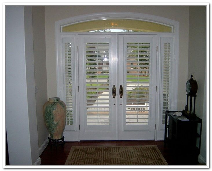 Plantation Shutters For French Doors Good Ideas