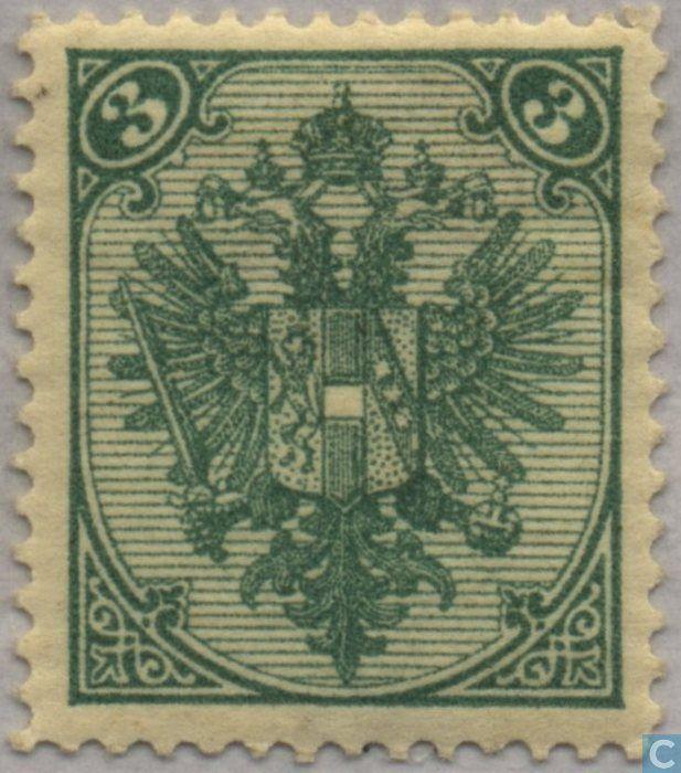 1895 Austria-Hungary - Bosnia and Herzegovina - Coat of Arms