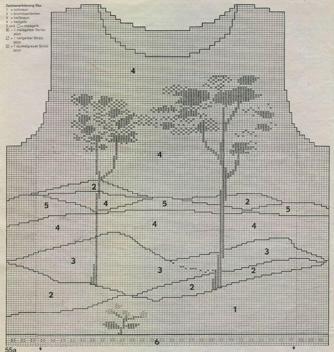 Пуловер с деревьями. Обсуждение на LiveInternet - Российский Сервис Онлайн-Дневников
