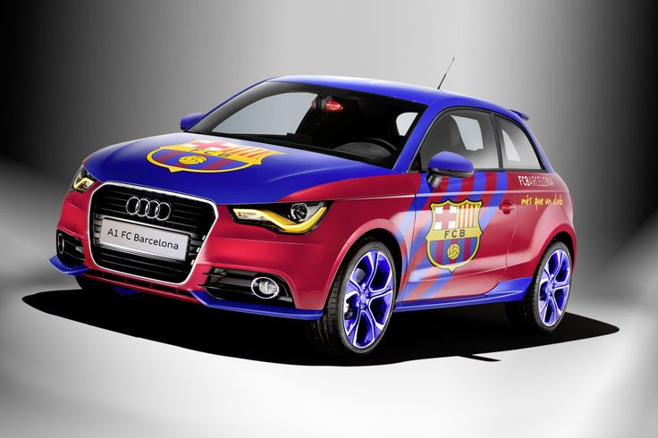 Audi a1 fc barcelona edition garage car fcb pinterest for Garage auto legue langueux