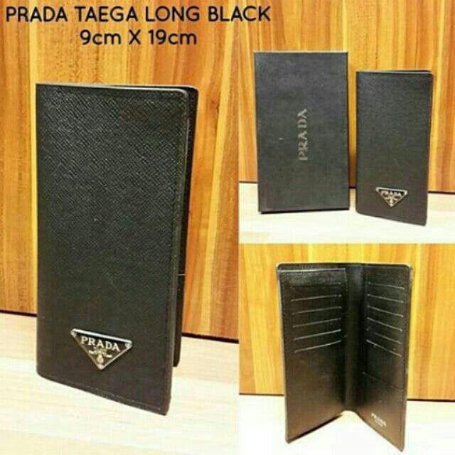 Temukan dan dapatkan Wallet/Dompet PRADA TAEGA LONG BLACK hanya Rp 250.000 di Shopee sekarang juga! #ShopeeID   http://shopee.co.id/wfashioncenter/1567666