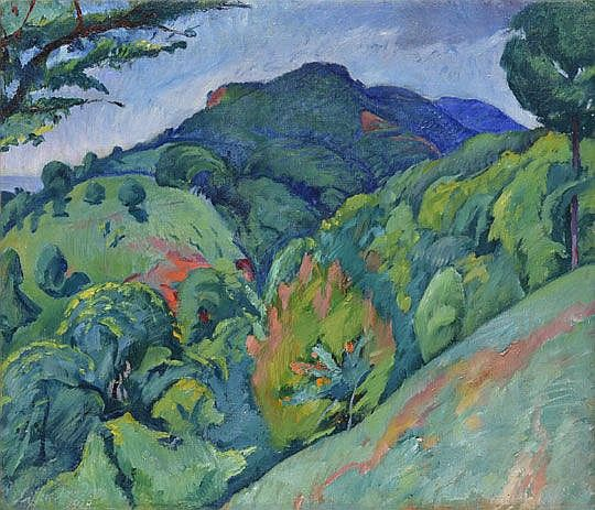 Ziffer Sándor (1880-1962) Morgó Valley, 1928