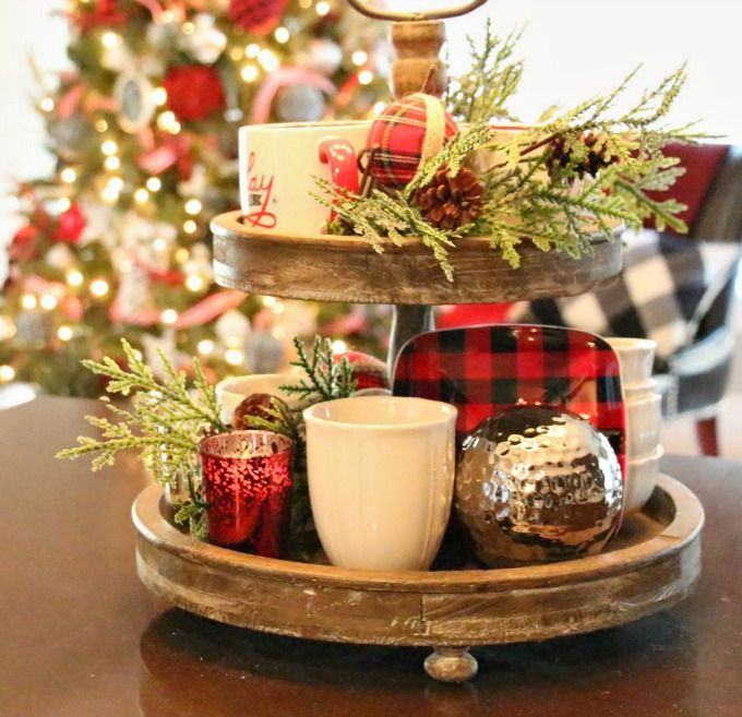 Tray Decoration Ideas Extraordinary 700 Best Home Seasonal And Holiday Decorations Images On Pinterest 2018