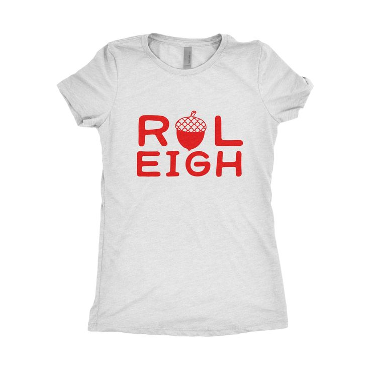 Medium womens tee raleigh north carolina tshirt