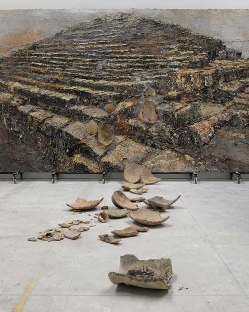anselm kiefer... one of my favorite modern artists. Please note: I hold most modern art in contempt for good reason. Anselm Kiefer is an exception. The man has incredible talent.