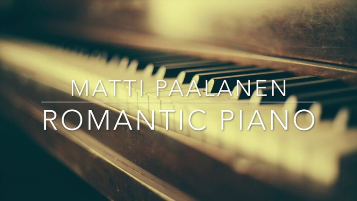 Romantic Piano - one hour of piano music is piano collection composed by Matti Paalanen. Romantic, sentimental and sad piano music for background use. Modern...