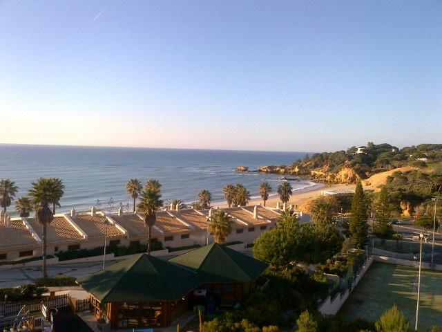 View from the 5 star Grande Real Santa Eulalia Resort & Hotel Spa -  happy delegates guaranteed....