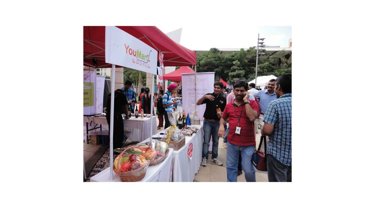 During the 'Christmas Carnival' event held at Manyata Tech Park on Dec 16th and Dec 17th, 2014, thousands of excited shoppers purchased range of quality products that YouMart offers at a discounted price.