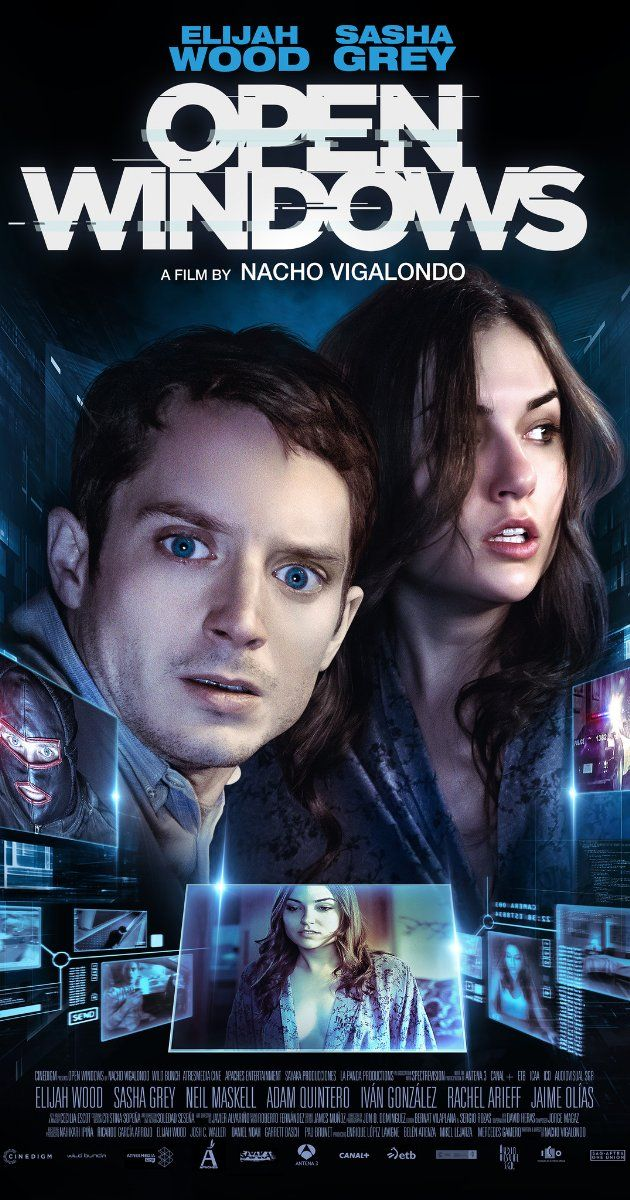 Directed by Nacho Vigalondo.  With Sasha Grey, Elijah Wood, Neil Maskell, Michelle Jenner. A jilted fan soon finds himself pulled into a deadly game of cat-and-mouse after he accepts the opportunity to spy on his favorite actress via his laptop.