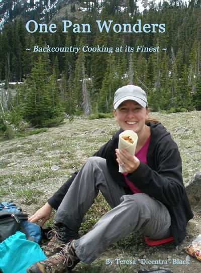 One pan backpacking meals. Not sure about bringing eggs on the trail though...