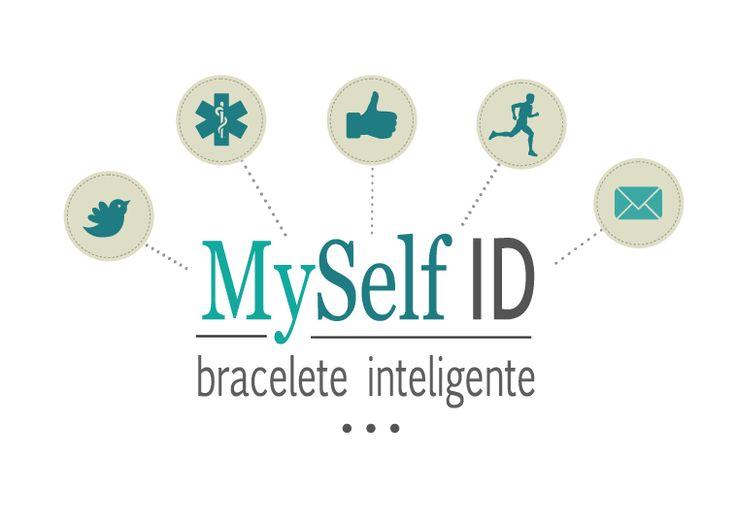 Desenvolvimento logotipo MySelfID - Bracelete Inteligente - SuperCode