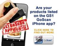 GoScan App met allergie informatie en controle voor de gebruiker.