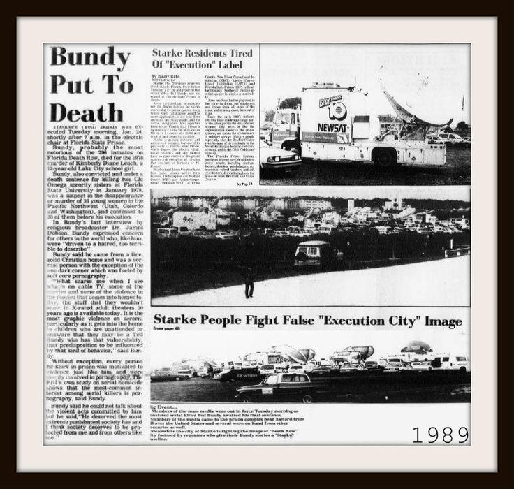 Ted Bundy Execution 1989 ; Ted Bundy!