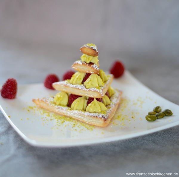 Sapin en mille-feuille ( Mille-Feuille-Tannenbaum) - Französisch Kochen by Aurélie Bastian
