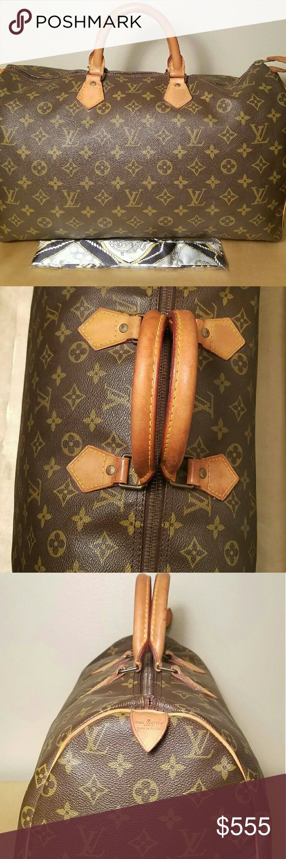 Authentic Louis Vuitton Speedy 40 In great condition. Has no rips tears or stains. Better price elsewhere Louis Vuitton Bags Satchels