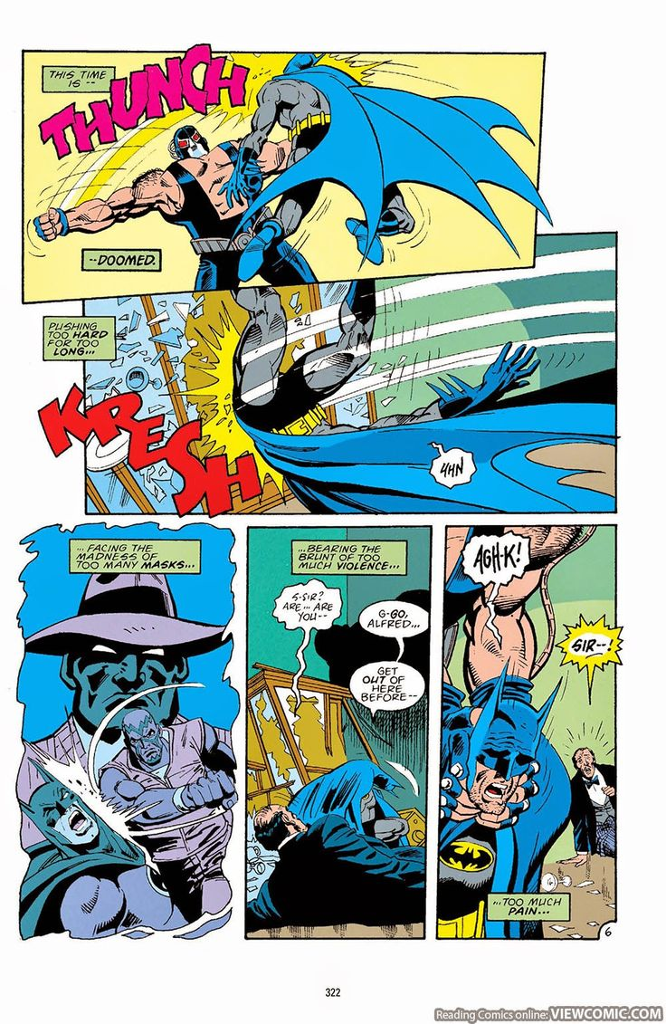 Batman: Knightfall #Broken_Bat_-_0a - Read Batman ...