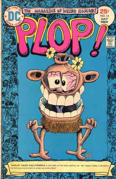 COMIC BOOKS FOR SALE!  Plop! Issue #14: The Locked Door of Harkness House; The Finishing Touch; Wednesday�s Child; Waning Moon - Printing #1 July 1975 - $5.98 - Fine - 3-67152