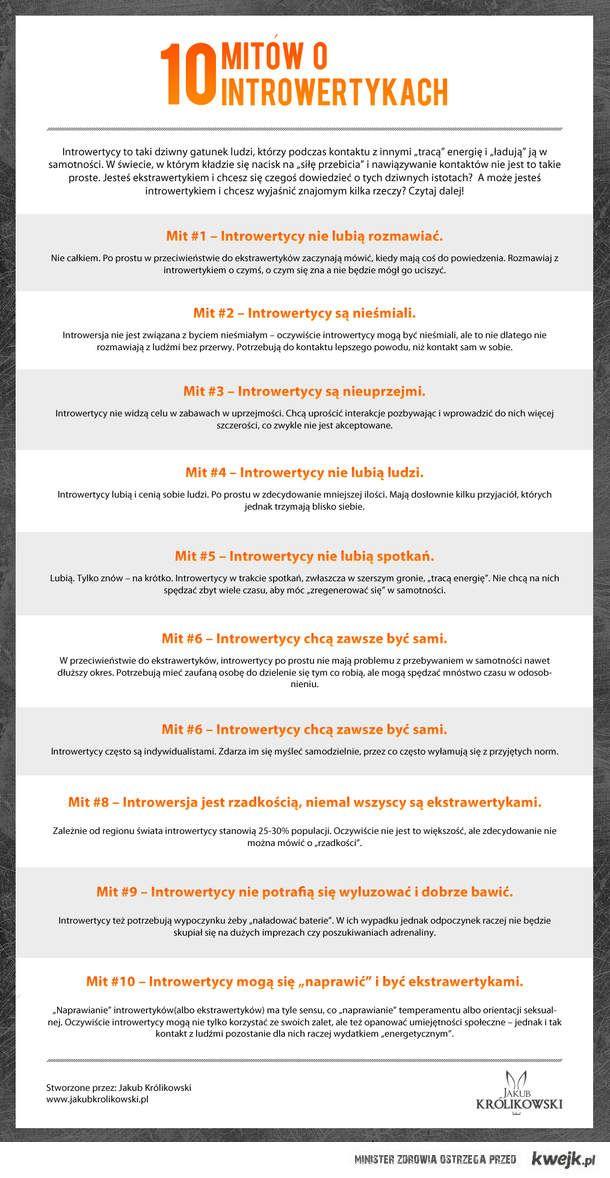 10 mitów o introwertykach.