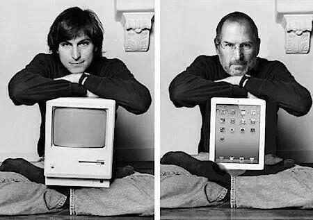 Steve Jobs : Bald Men of Style