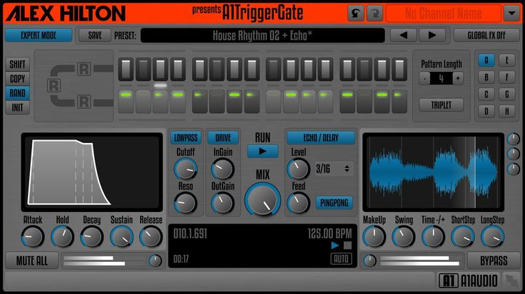 A1AUDIO has introduced A1TriggerGate, a freeware trance gate effect in VST/AU/RTAS/AAX plugin formats for 32-bit and 64-bit plugin host applications running on Windows and Mac OS. A rhythmic gate (also known as sequenced gate or trance gate) is a type of modulation effect which passes or mutes incoming audio following a pre-programmed sequence. Rhythmic gates are often usedRead More