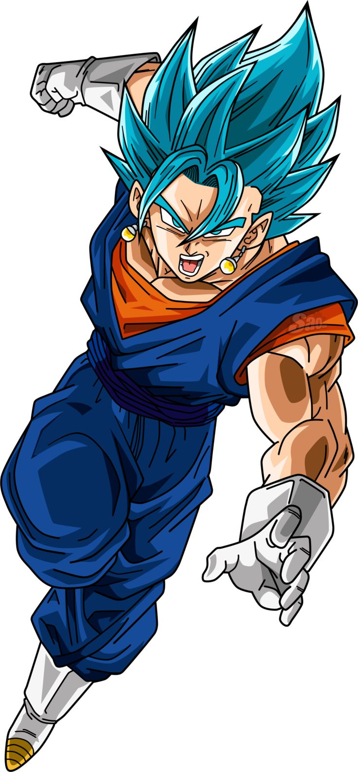 Vegetto SSJ Blue by SaoDVD on @DeviantArt
