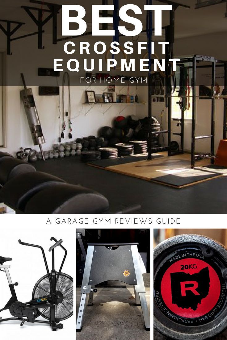 The best crossfit equipment for a home gym in 2019 garage gym at