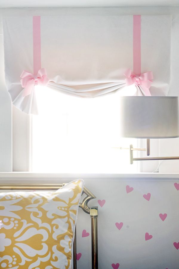 Blogger Kristin Jackson chose the Pivoting Swing-Arm Pin-Up Lamp from Home Decorators Collection for this darling bedroom makeover for her daughter. See it on The Hunted Interior.