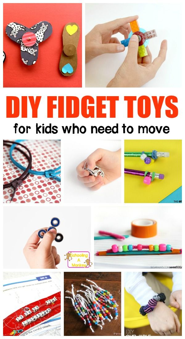 Don't waste money on buying fidgets for the classroom. Instead, make these DIY fidget spinners and fidgets for kids to use perfect for teaching ADHD.