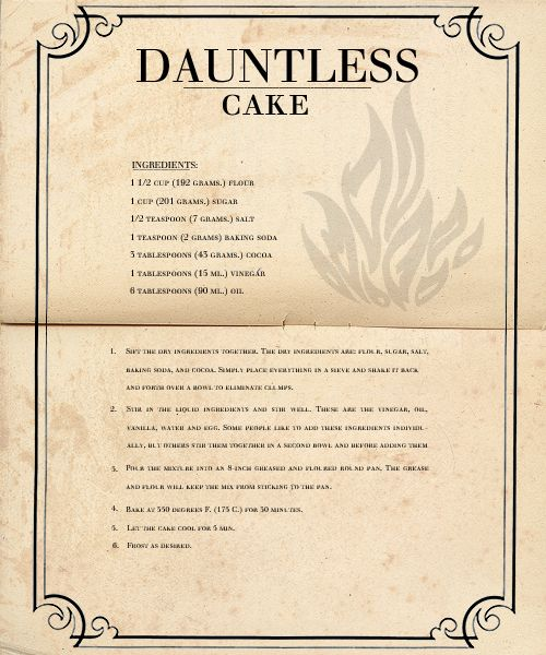 Dauntless Cake. You gotta be kidding me. I'm making this!