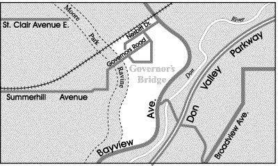 Toronto Neighbourhood Guide - Governor's Bridge - Neighbourhoods
