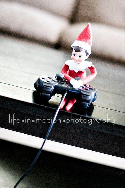 Another Elf on the Shelf Idea