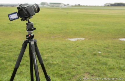 Manfrotto tripod video photo carbon fiber fliud head ball head mount canon dslr