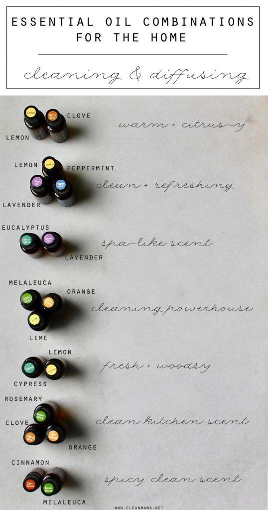 Essential Oil Combinations for the Home  Essential Oil CombinationsClean  MamaSelf. 25  best ideas about Clean mama on Pinterest   Essential oil
