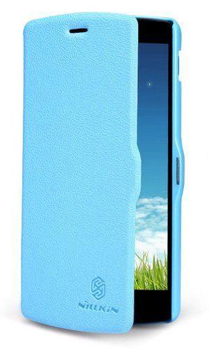 Google Nexus 5 Flip Case – Nillkin Fruit Series Leather Case (Blue)