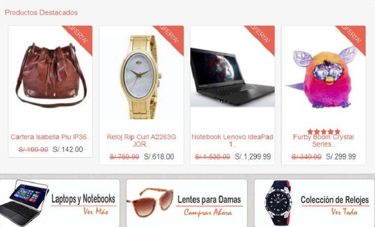 PeruTienda.pe: Compra online en Perú con ENVIOS A NIVEL NACIONAL: Computadoras, Laptops, tablets, celulares, videojuegos, ropa, zapatillas, juguetes para niños, relojes y mucho mas!