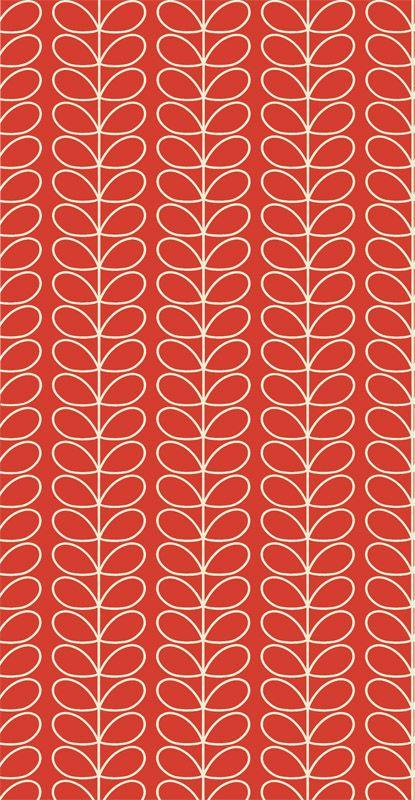 Linear Stem Poppy från Orla Kiely