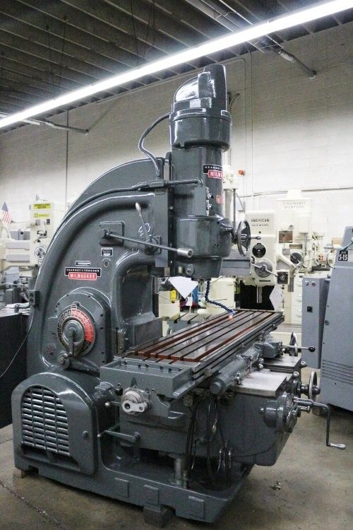 Kearney & Trecker 330TF-17 Vertical Mill # 9794 | Machinery Consultants