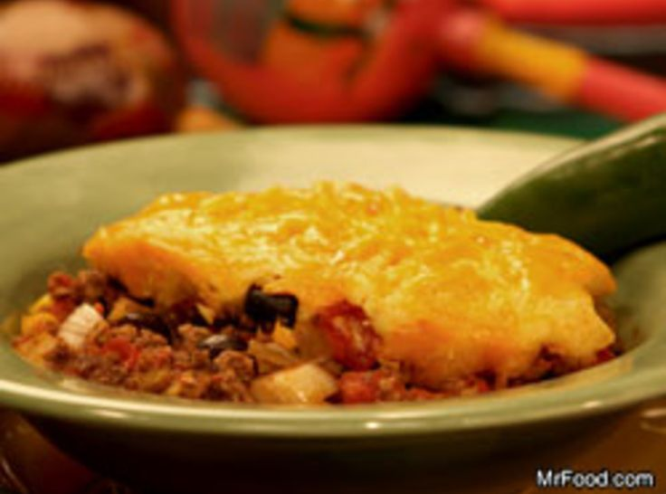 139 best mrod images on pinterest mr food recipes cooking crockpot tamale pie from mr food made this today for the family forumfinder Gallery
