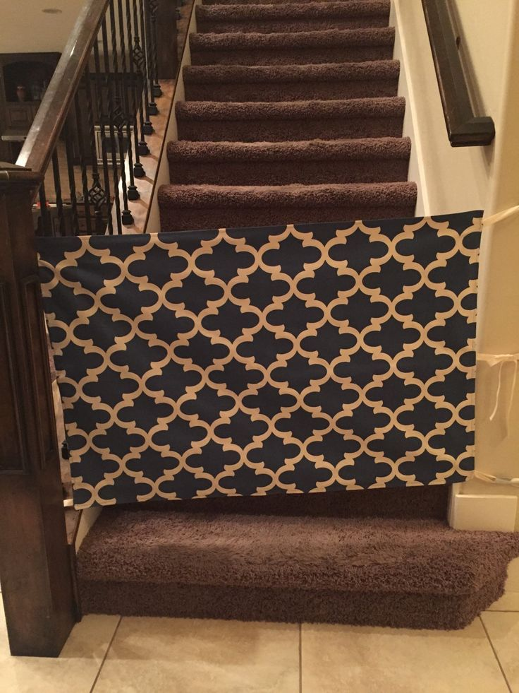 Fabric Baby Gate by TresChicDaisy on Etsy