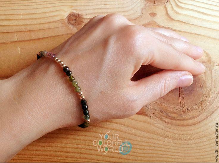 Купить Турмалиновое настроение / браслет // Tourmaline Mood / Bracelet
