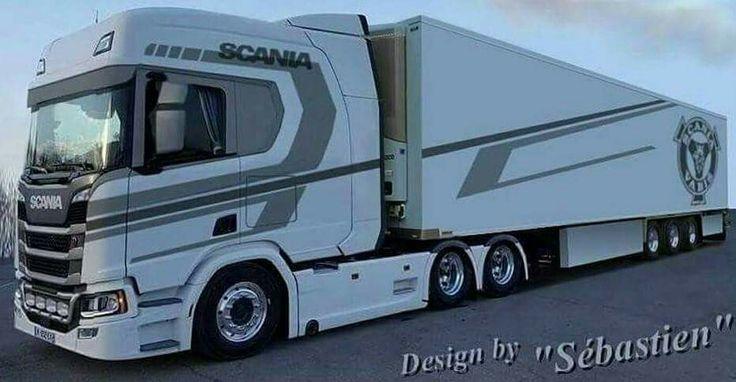 Beautiful new Scania design in longline