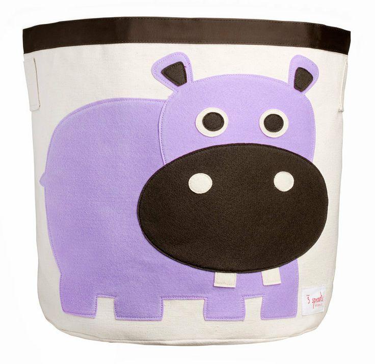 Machiko - a boutique for kids - Hippo Storage Toy Bin By 3 Sprouts, $49.95 (http://www.machikobaby.com.au/products/hippo-storage-toy-bin-by-3-sprouts.html)