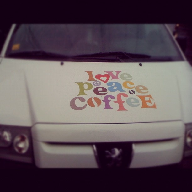 love peace coffee delivery