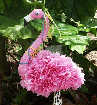 I will make Maddie a Flamingo Pinata for her birthday party!