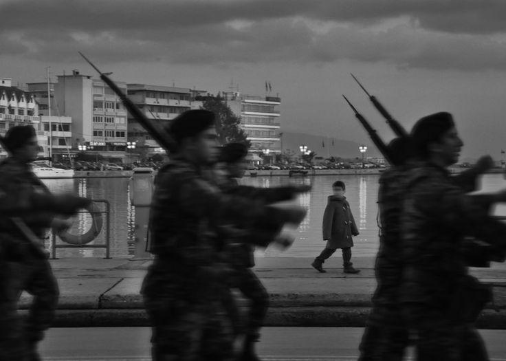 Peace Or War? by Panagiotis Mavrakis on 500px  #streetphotography #street #photography #iphonography #peace #war #parade